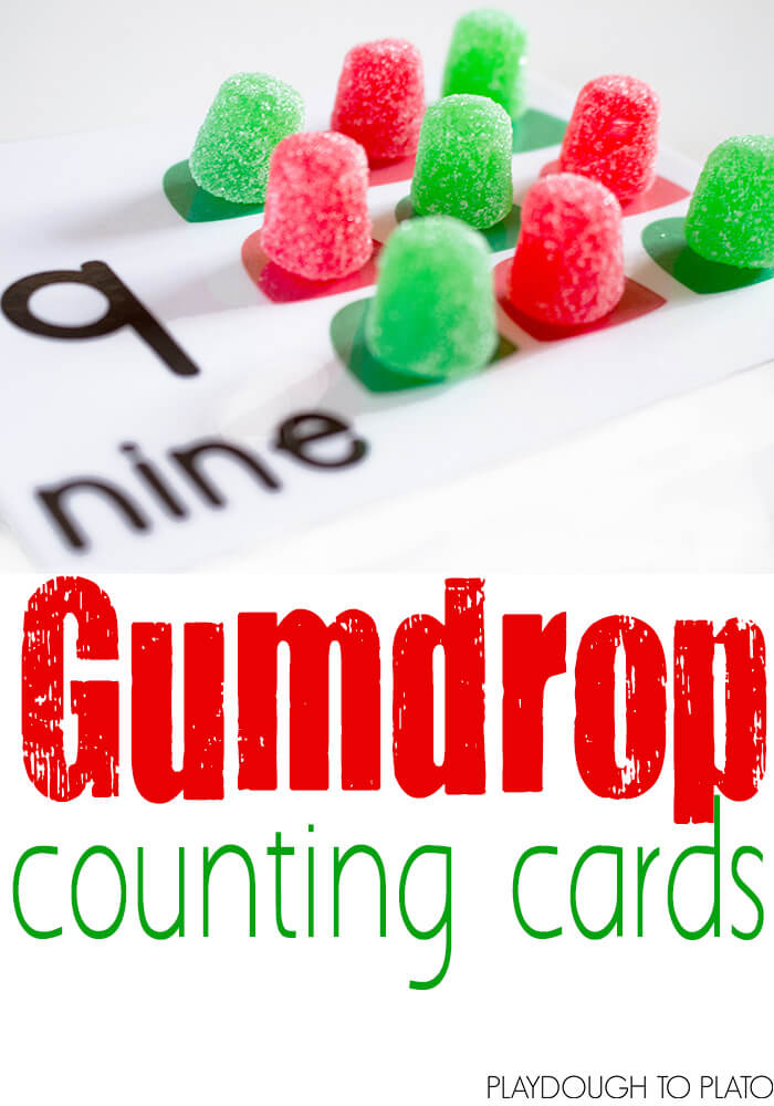 Gumdrop Counting Cards