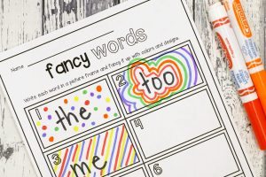 Editable Word Work Activities