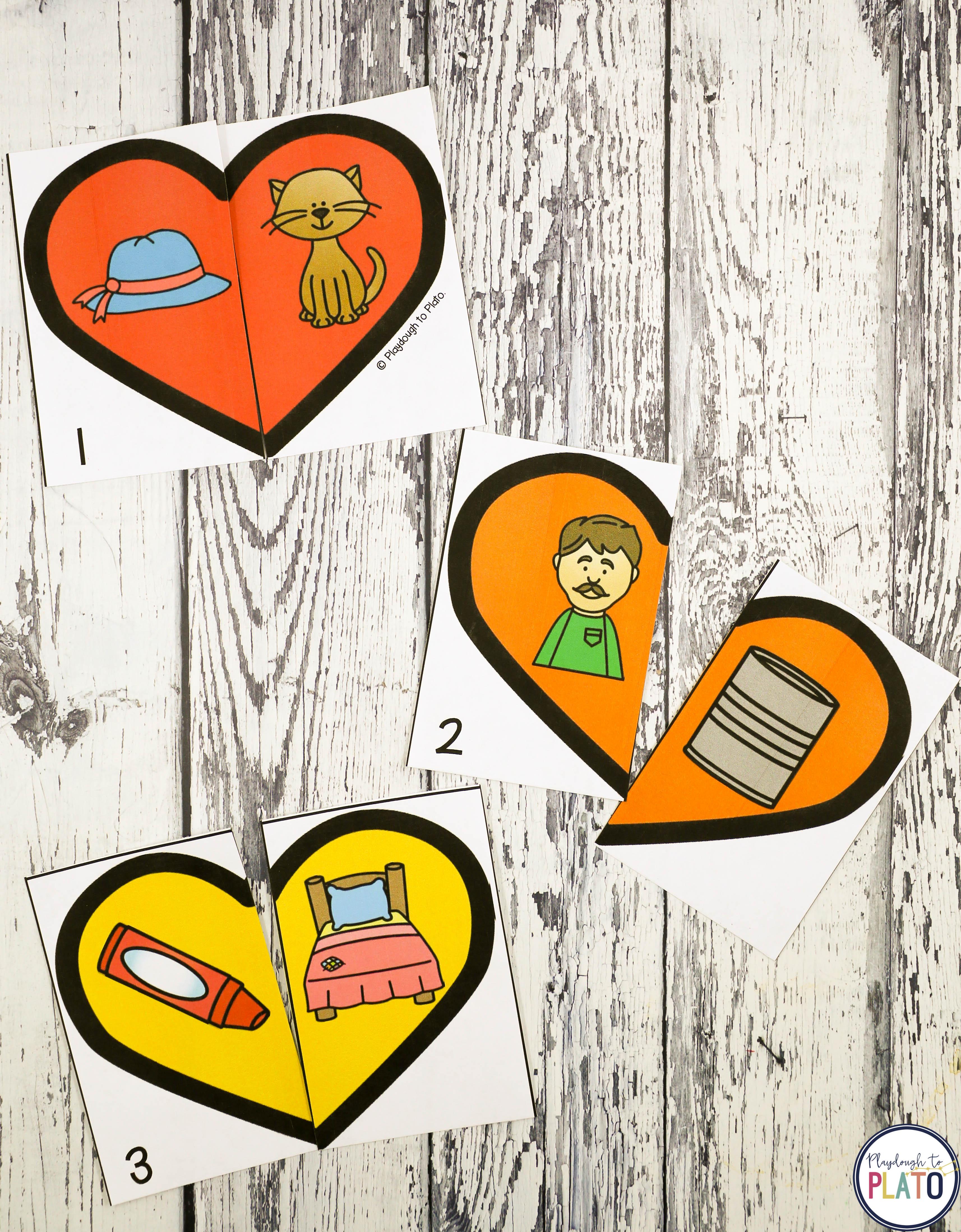 Valentines Day Activity Pack  Playdough To Plato