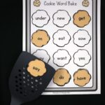 Cookie Sight Word Game