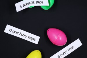 Easter Egg Action Cards