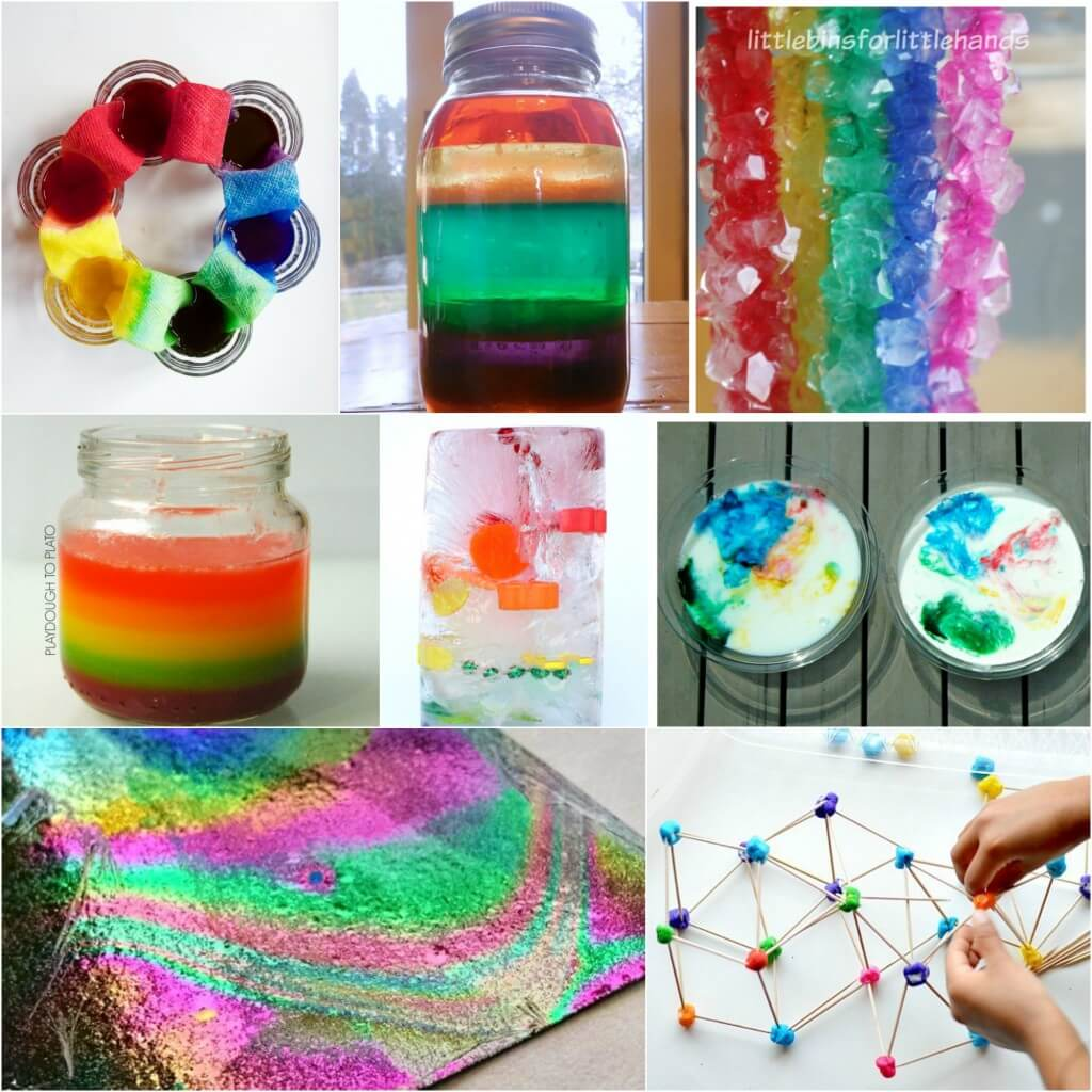 Rainbow Science Projects for Kids