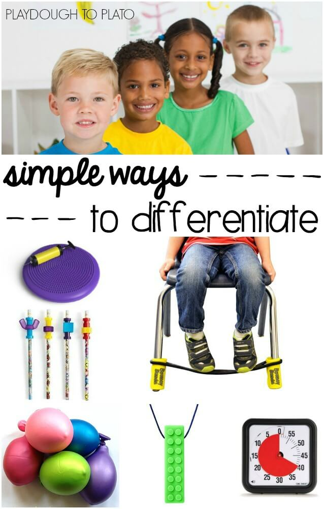 Simple Ways to Differentiate