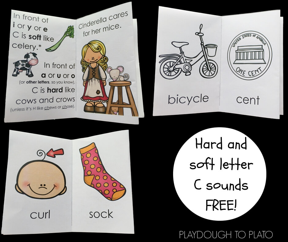 If your kids love little readers, grab these free books and gain confidence with hard and soft Cs!