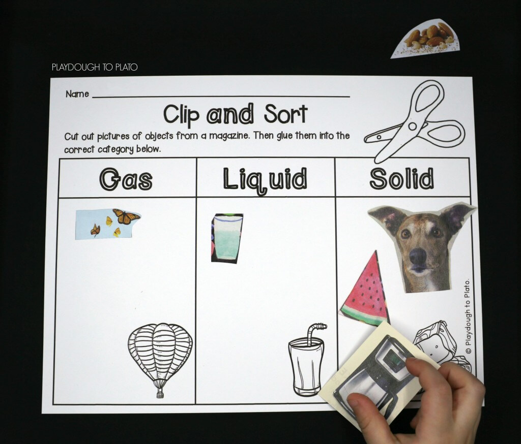 Clip and sort objects!
