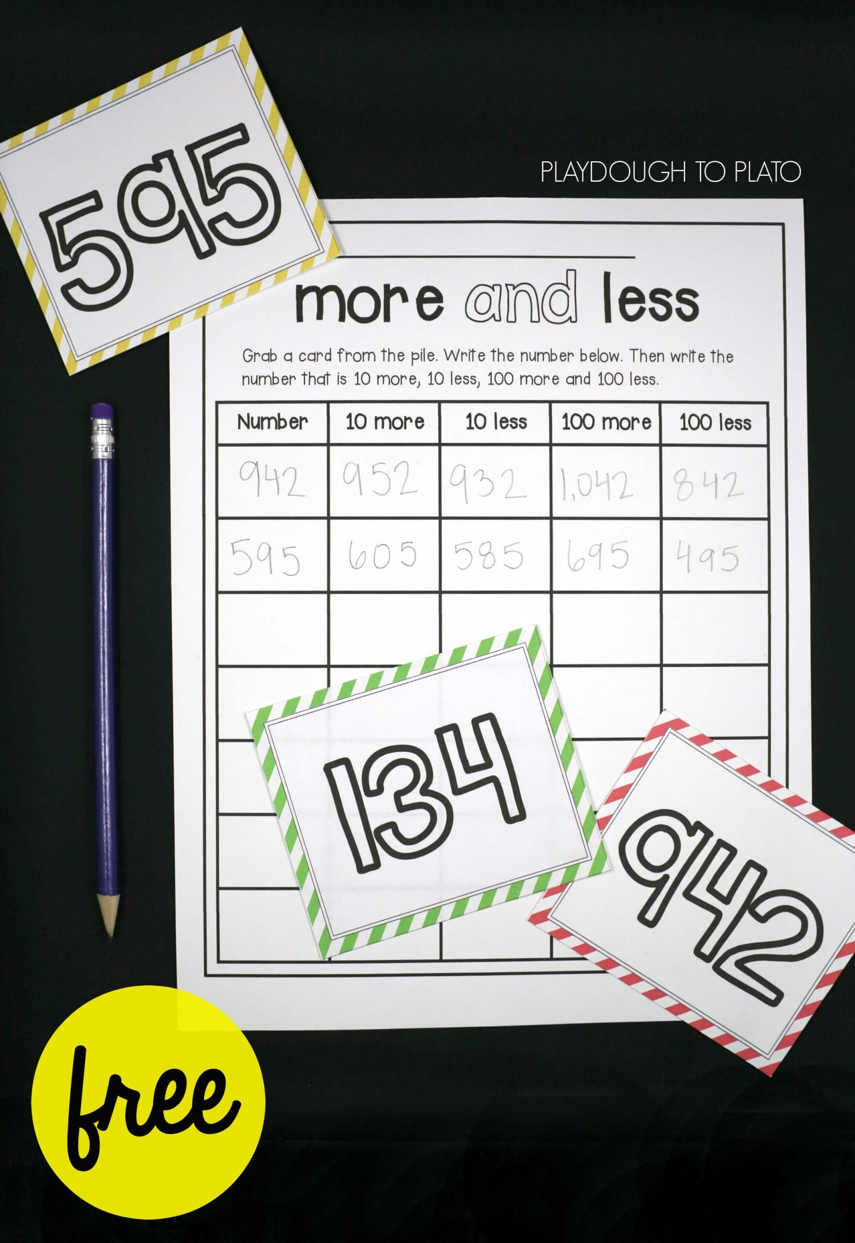 More and Less Number Sense Game