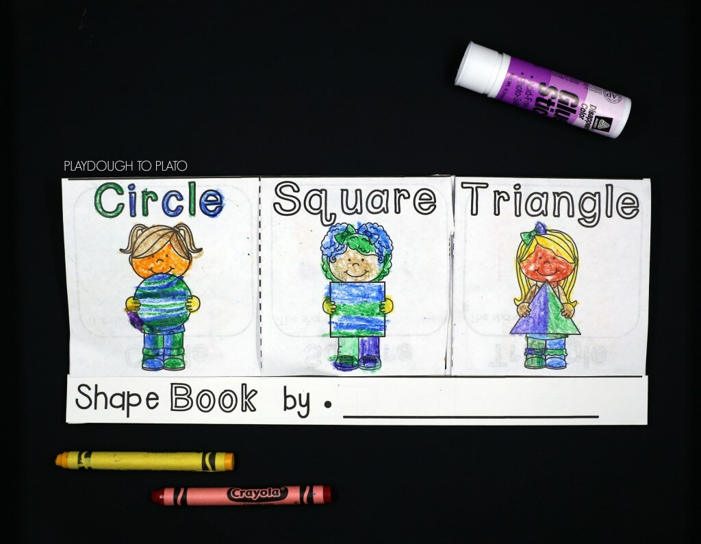 Shape flap book!