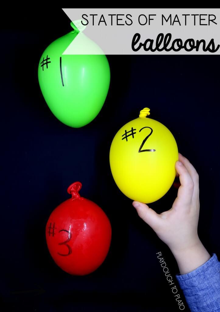 States of Matter Balloons!