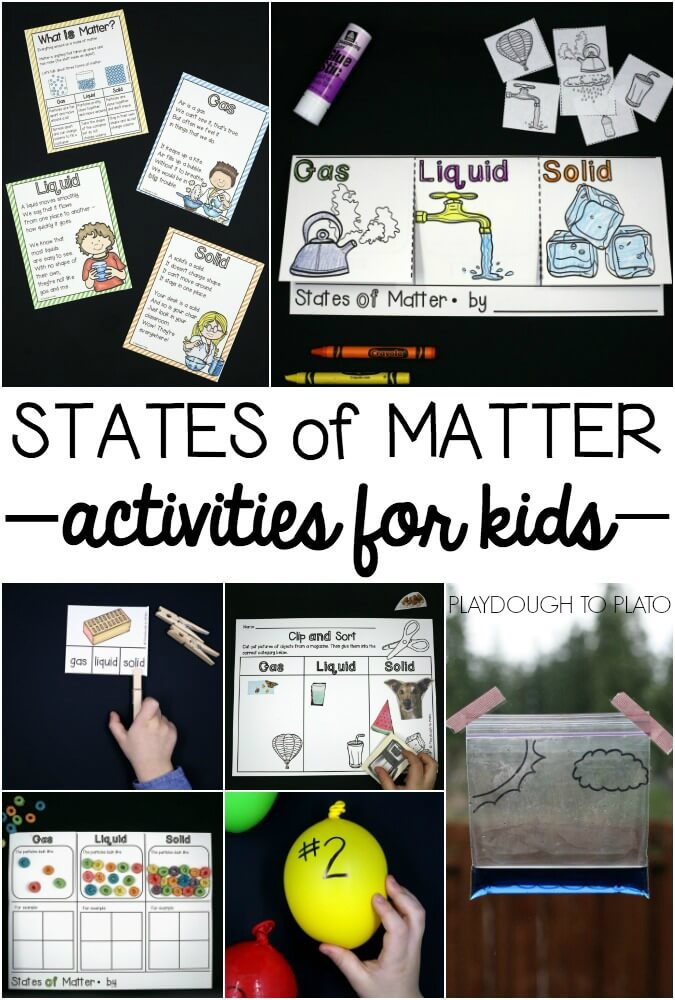 Tons of fun states of matter activities for kids!
