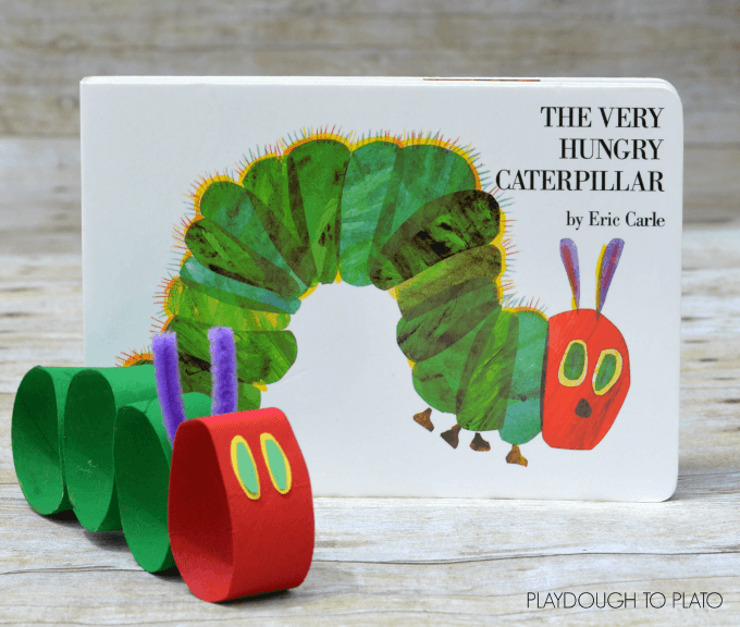 Transform The Hungry Caterpillar From Very Into A Craft For Kids Using Toilet