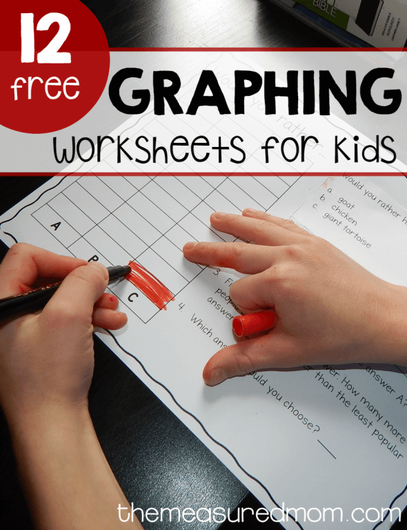 12 graphing worksheets for kids