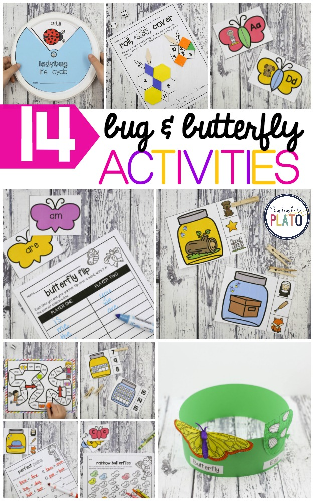 14 Must-Have Bug and Butterfly Activities