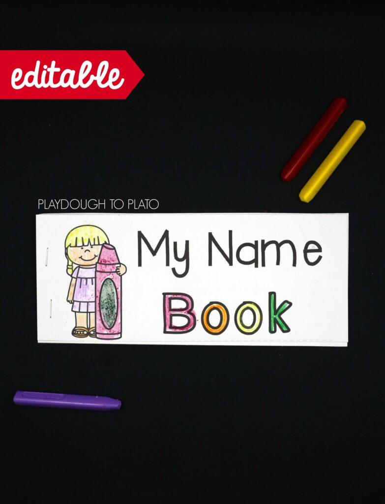 EDITABLE name book!