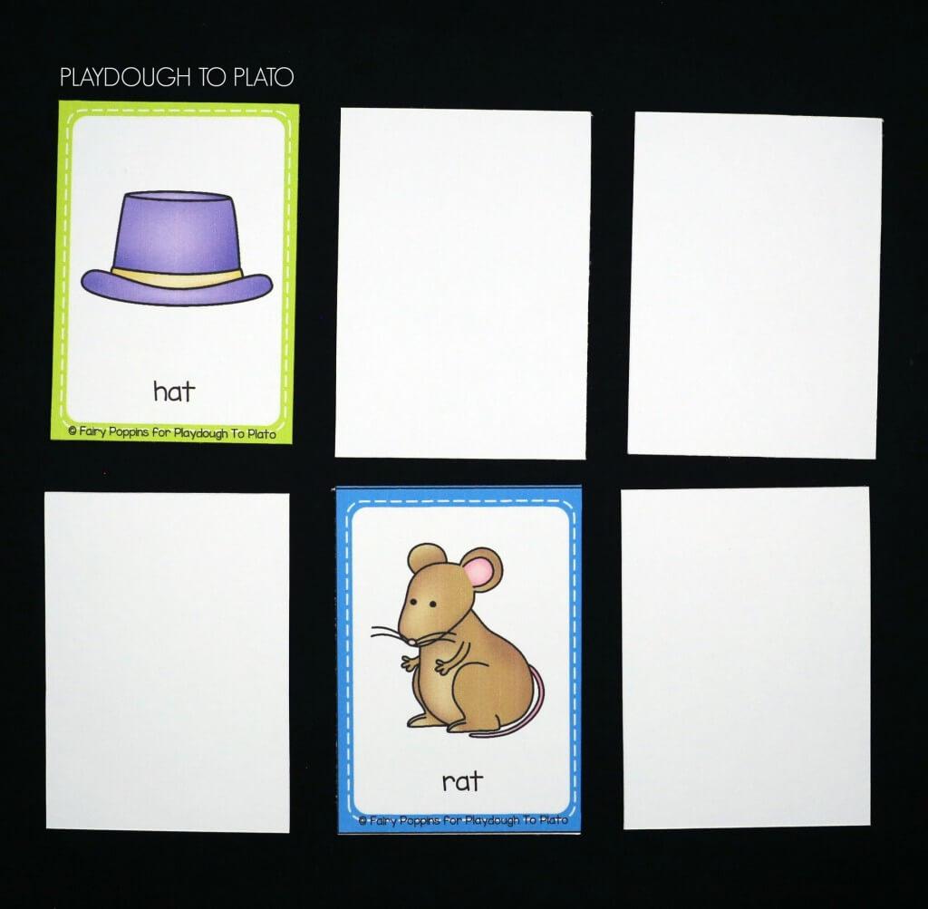 Fun rhyming memory game!