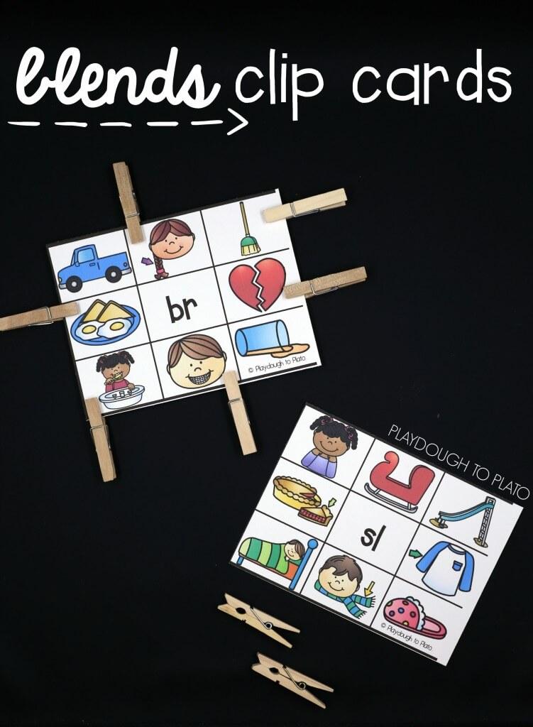 18 blends clip cards!