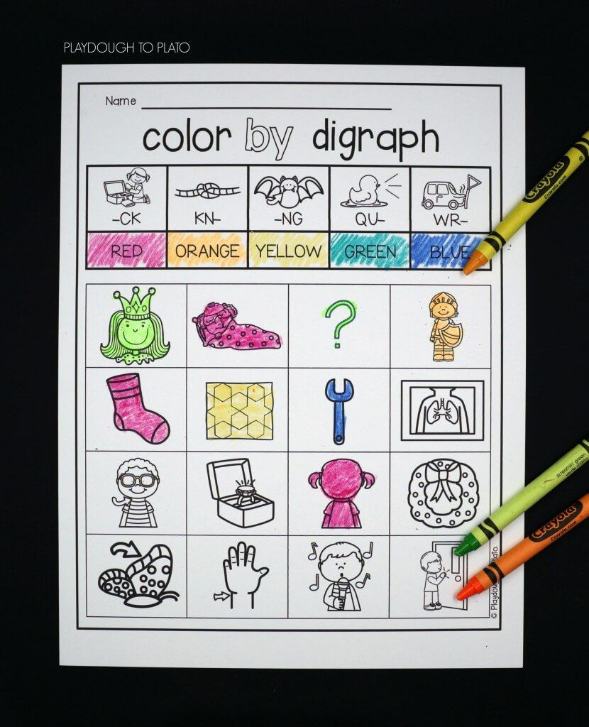 Color by digraph!