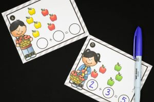 Apple Addition Cards