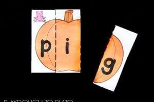 Pumpkin CVC Puzzles