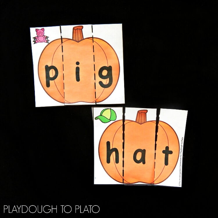 Pumpkin CVC puzzles 2