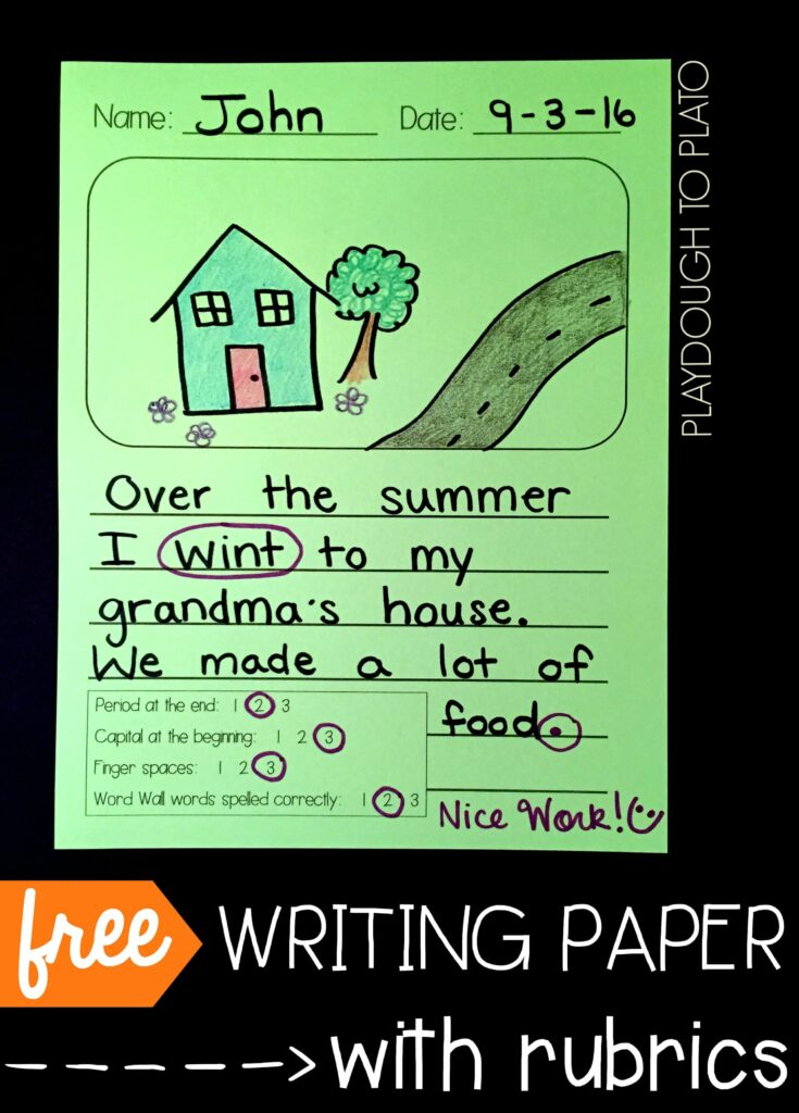 free-writing-paper-for-kids