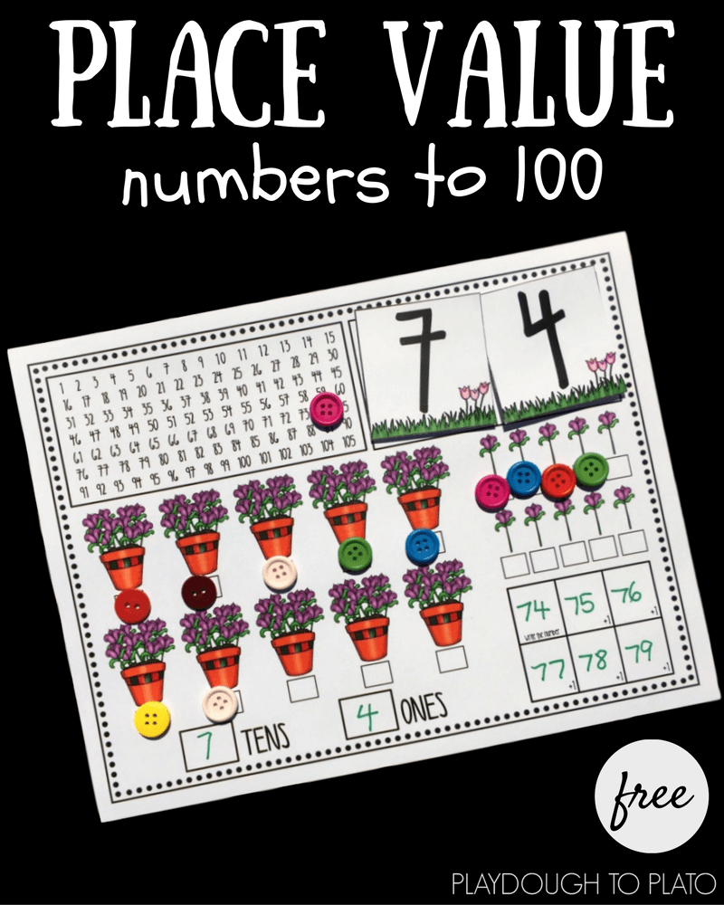 This free math activity can help consolidate and reinforce your child's understanding of place value and numbers to 100.