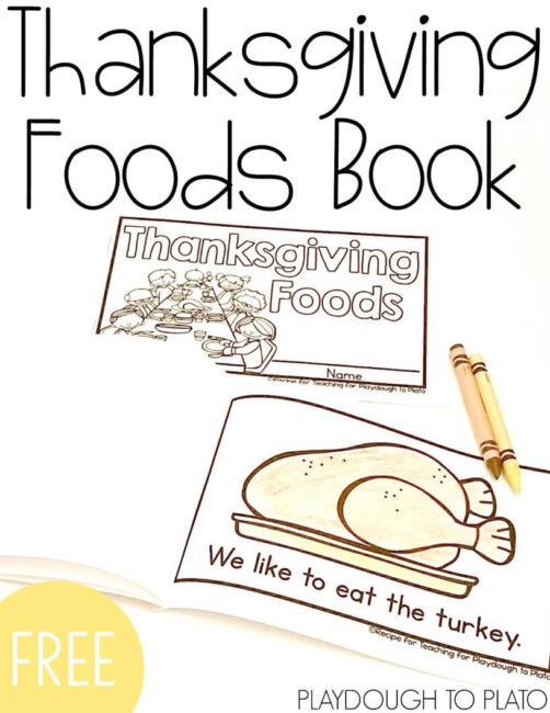 thanksgiving book playdough to plato