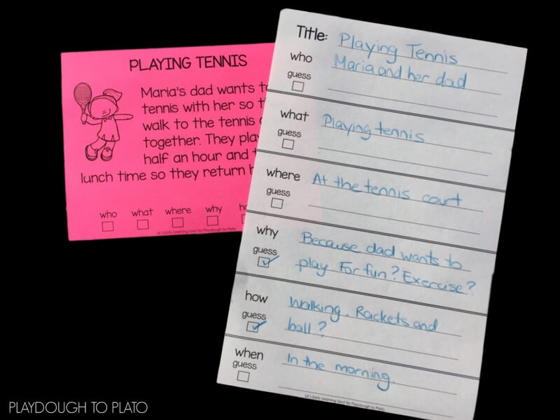 Close reading is a great exercise for understanding the meaning in a text. Grab these free close reading activity cards!
