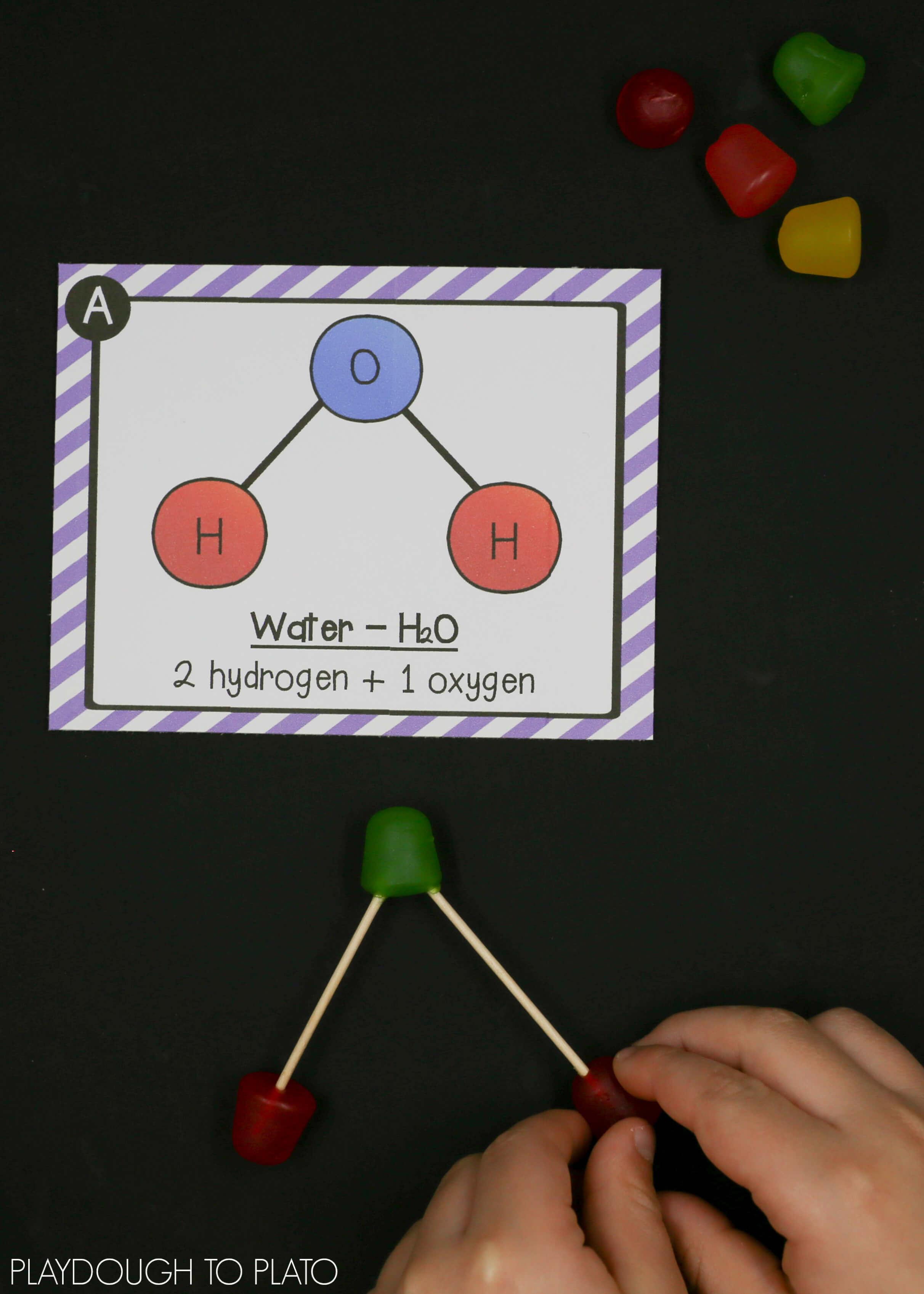 H2o Molecule Model