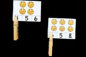 Cookie Count and Clip Cards