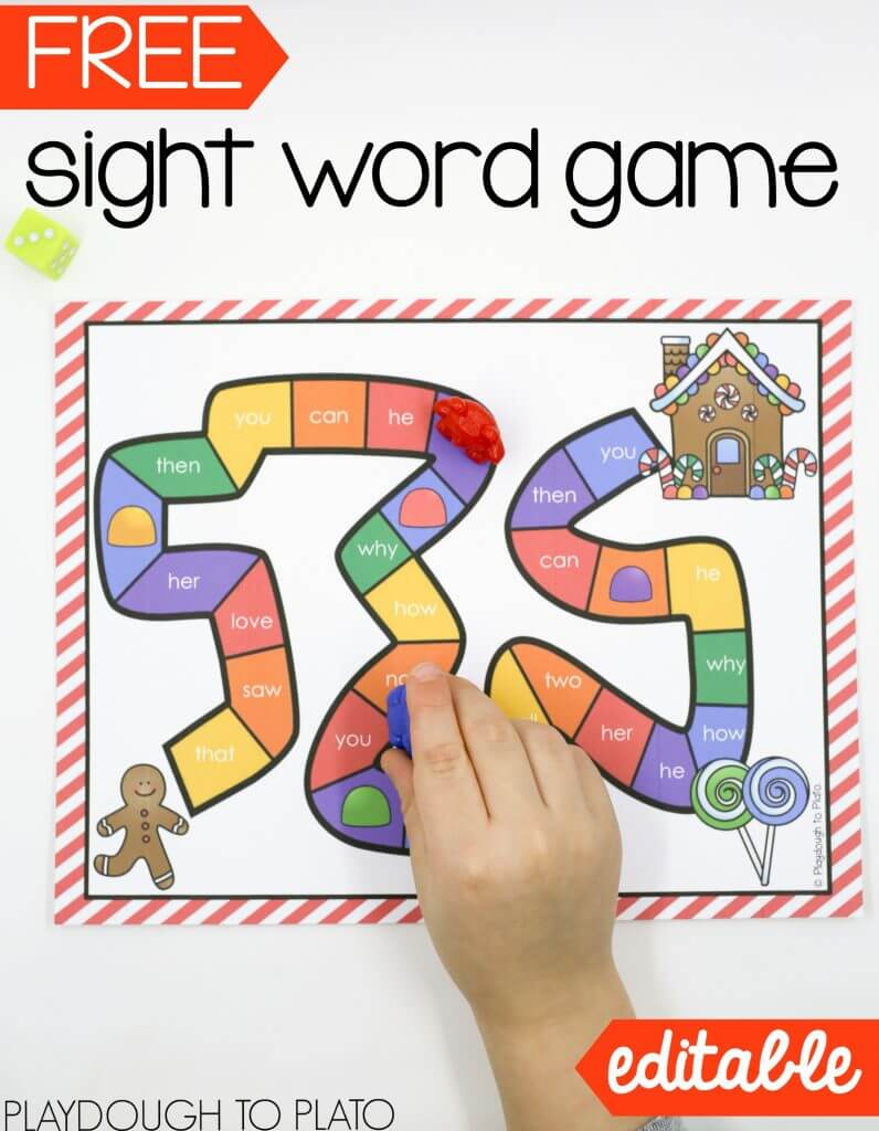 free-gingerbread-sight-word-game