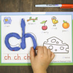 Digraph Playdough Mats