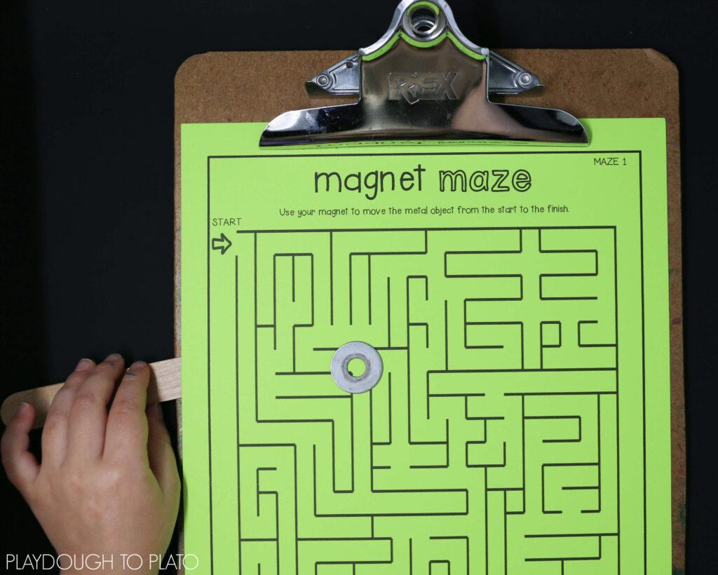 magnet-maze