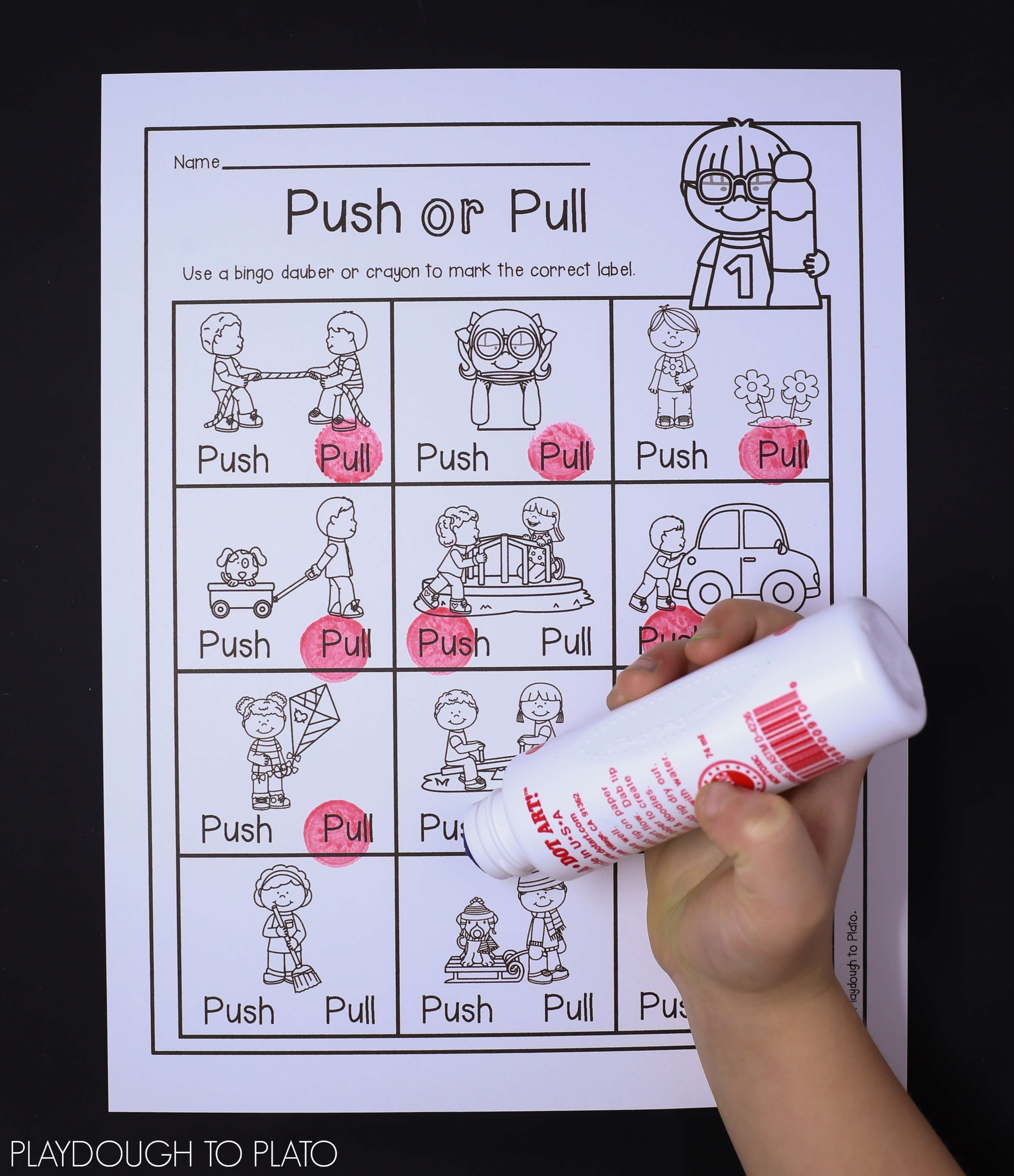 Force And Motion Activity Pack Playdough To Plato