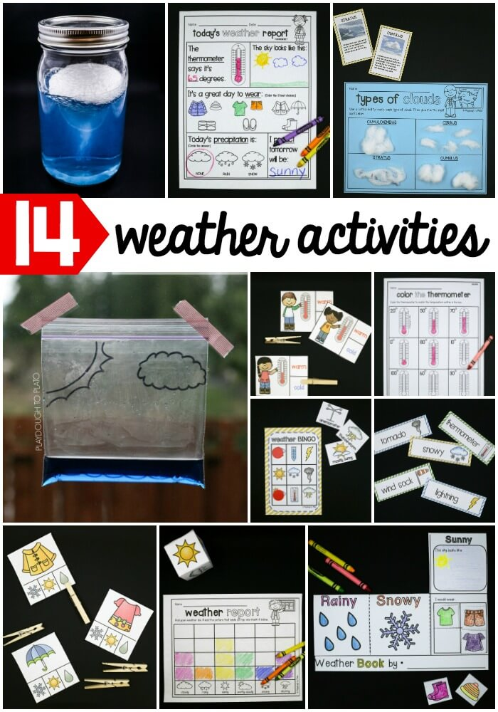 14 weather activities your kids will love!