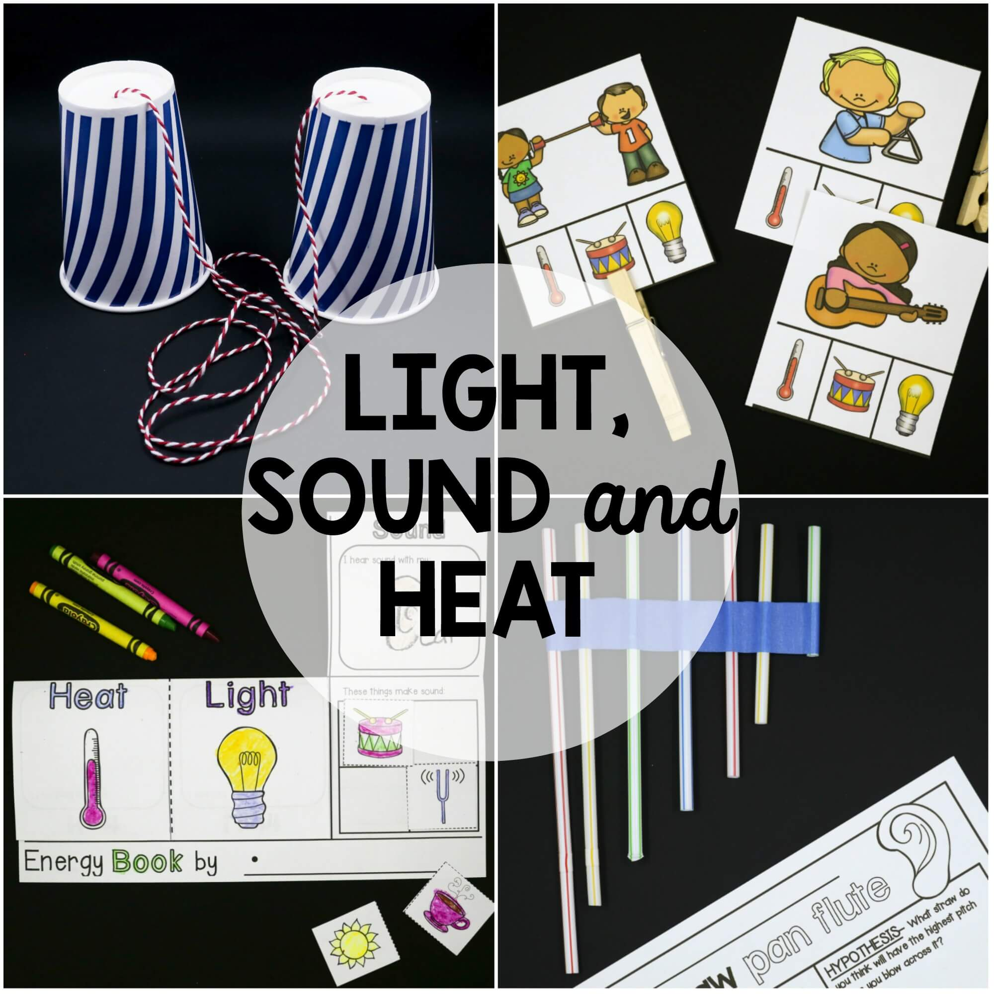 Light, Sound And Heat