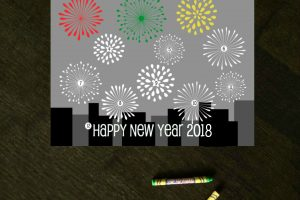 New Year's Eve Countdown Coloring Sheet