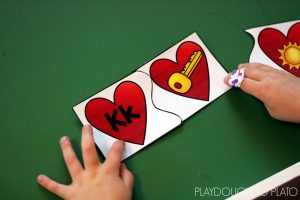 Beginning Sound Valentine's Day Puzzles