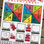 Valentine's Addition and Subtraction Game