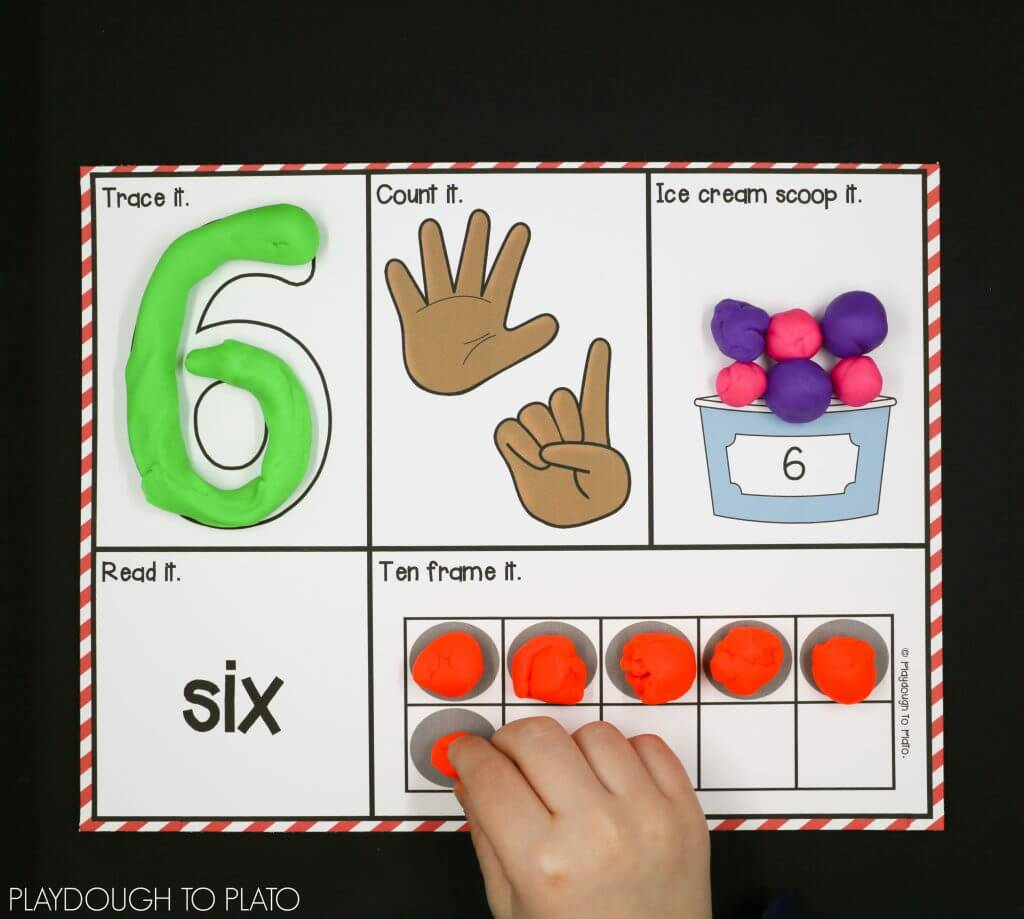 20 Super Fun Number Games For Kids Playdough To Plato