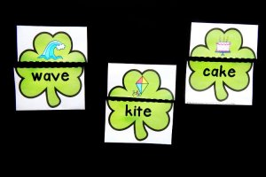 Magic E Shamrock Puzzles