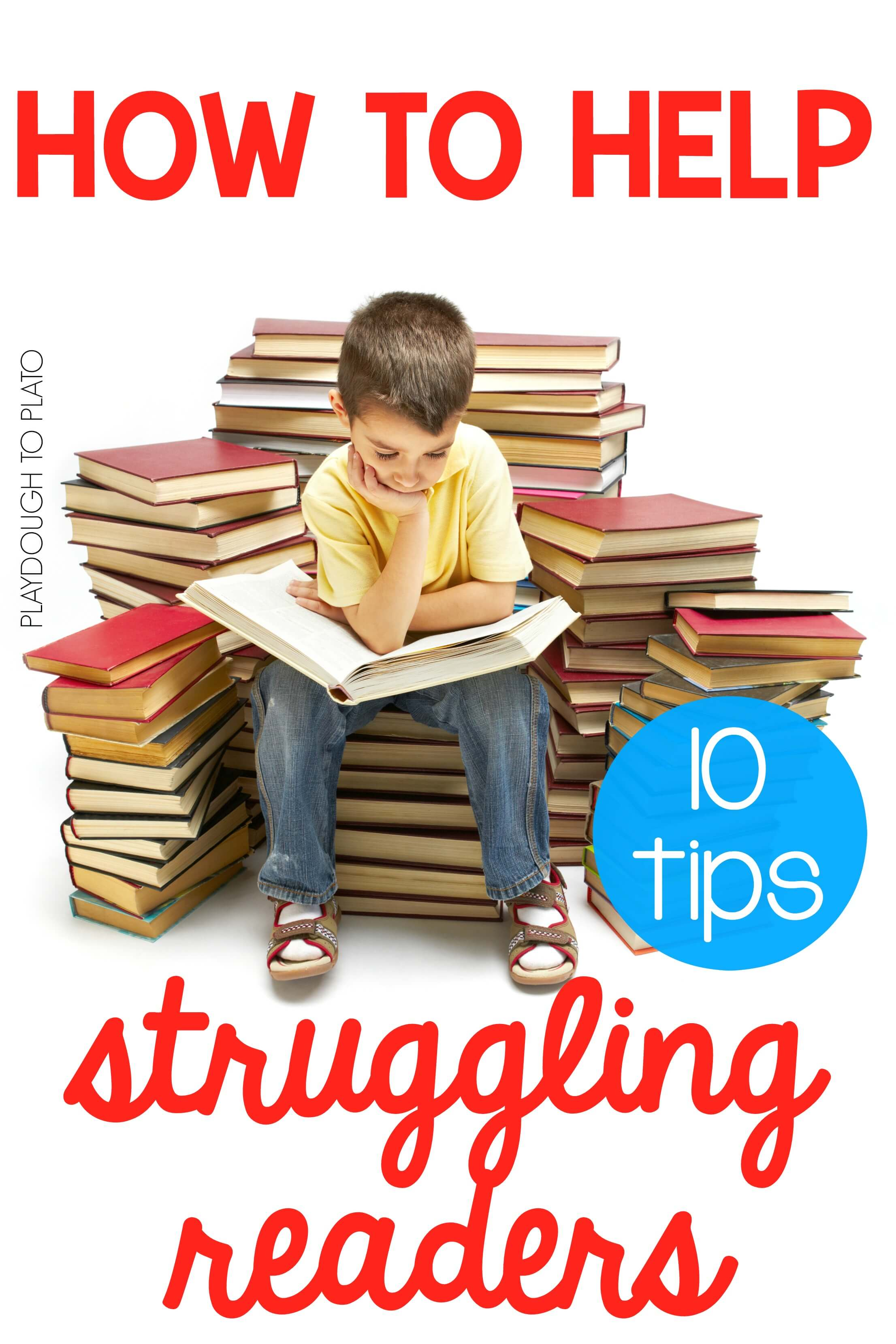 10 ways to help struggling readers playdough to plato