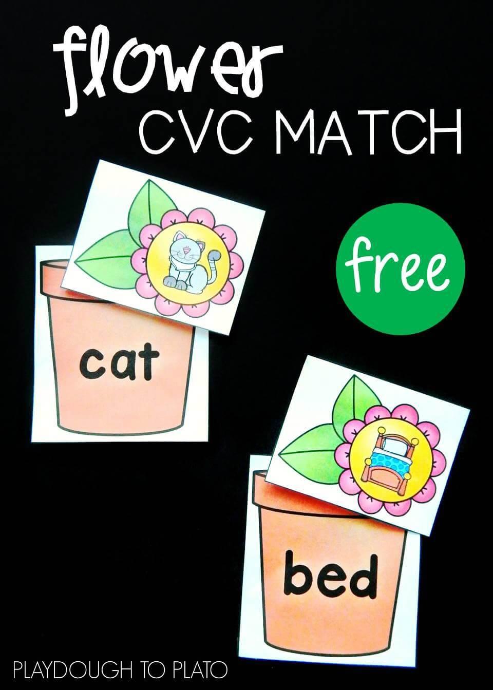 Flower CVC Match