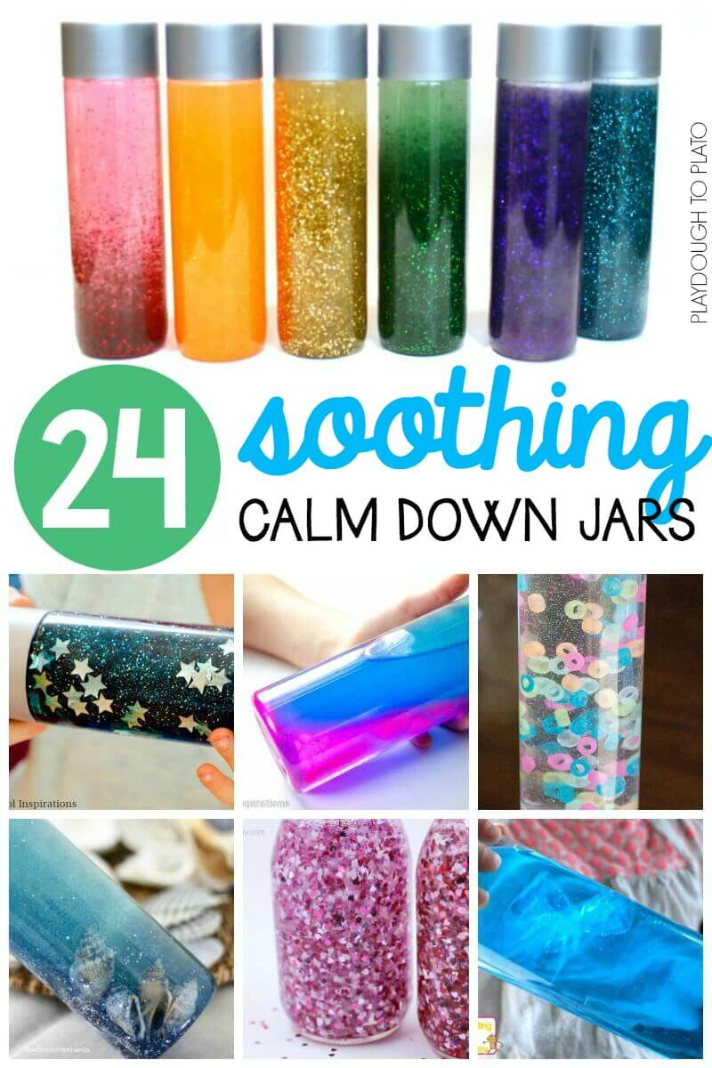 24 Soothing Calm Down Jars