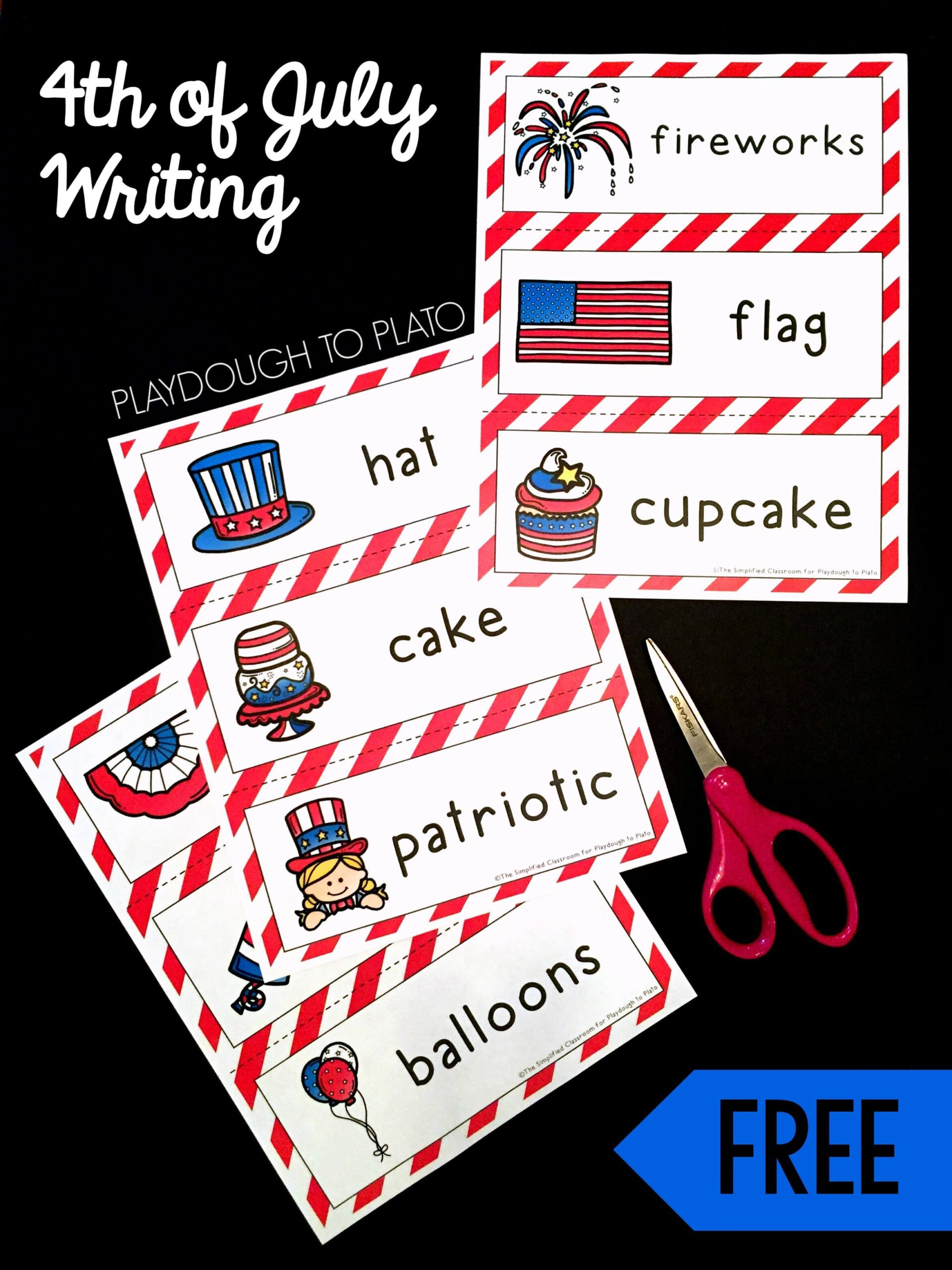 Fourth of July Writing Activity