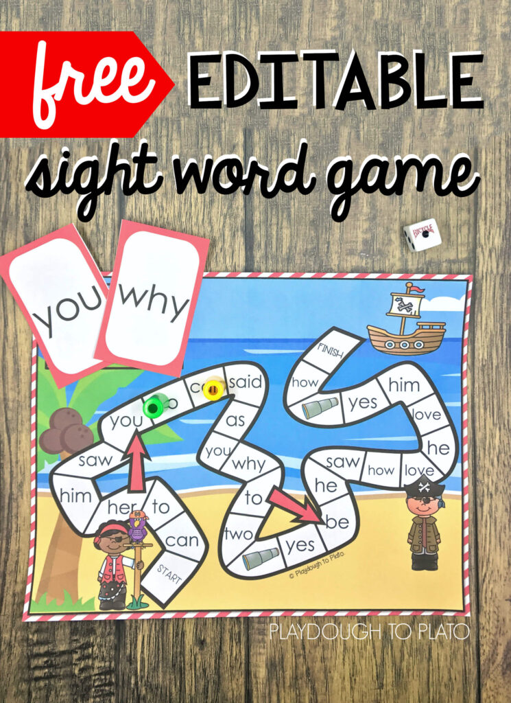 This is a graphic of Lucrative Free Printable Sight Word Games