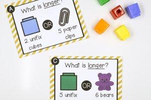 Linear Measurement STEM Cards