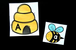 Beehive Alphabet Match