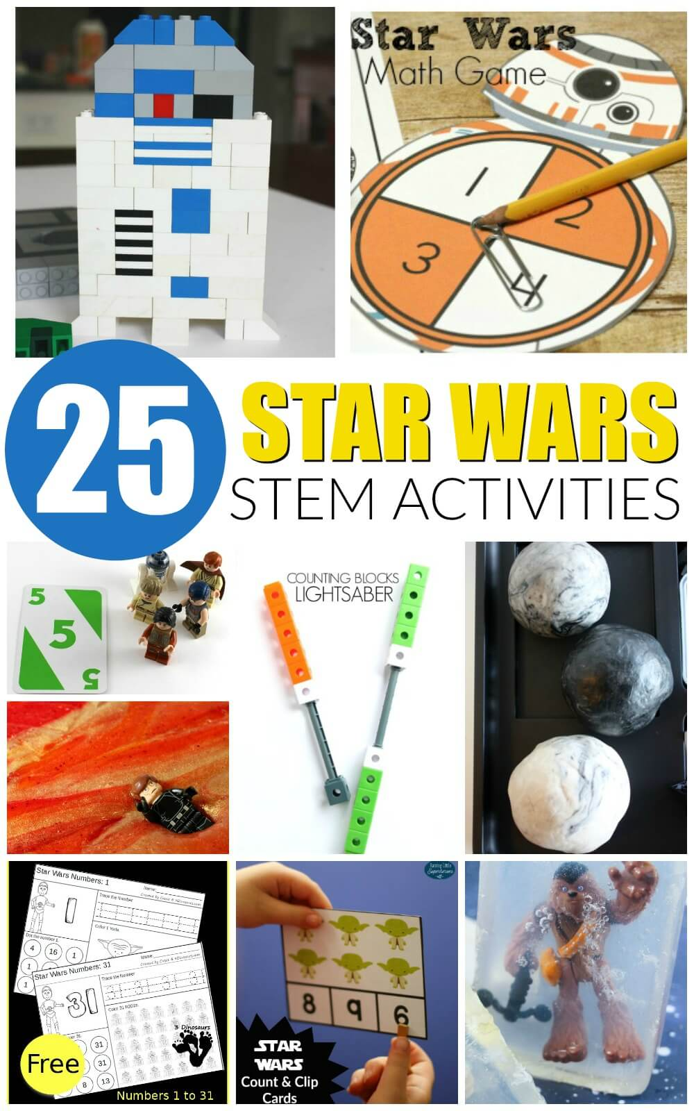 Star Wars Stem Activities Playdough To Plato