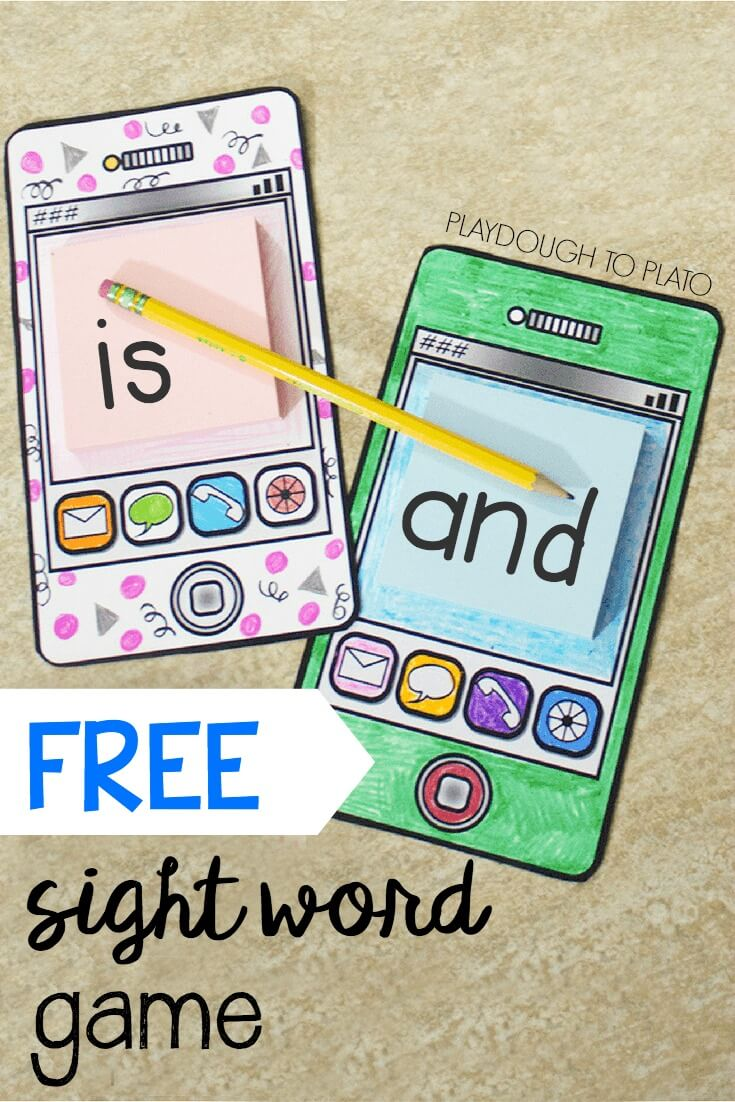 It's just a photo of Zany Free Printable Sight Word Games