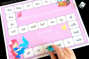 Mermaid Sight Word Game
